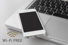 Wi-Fi、有線LAN 無料